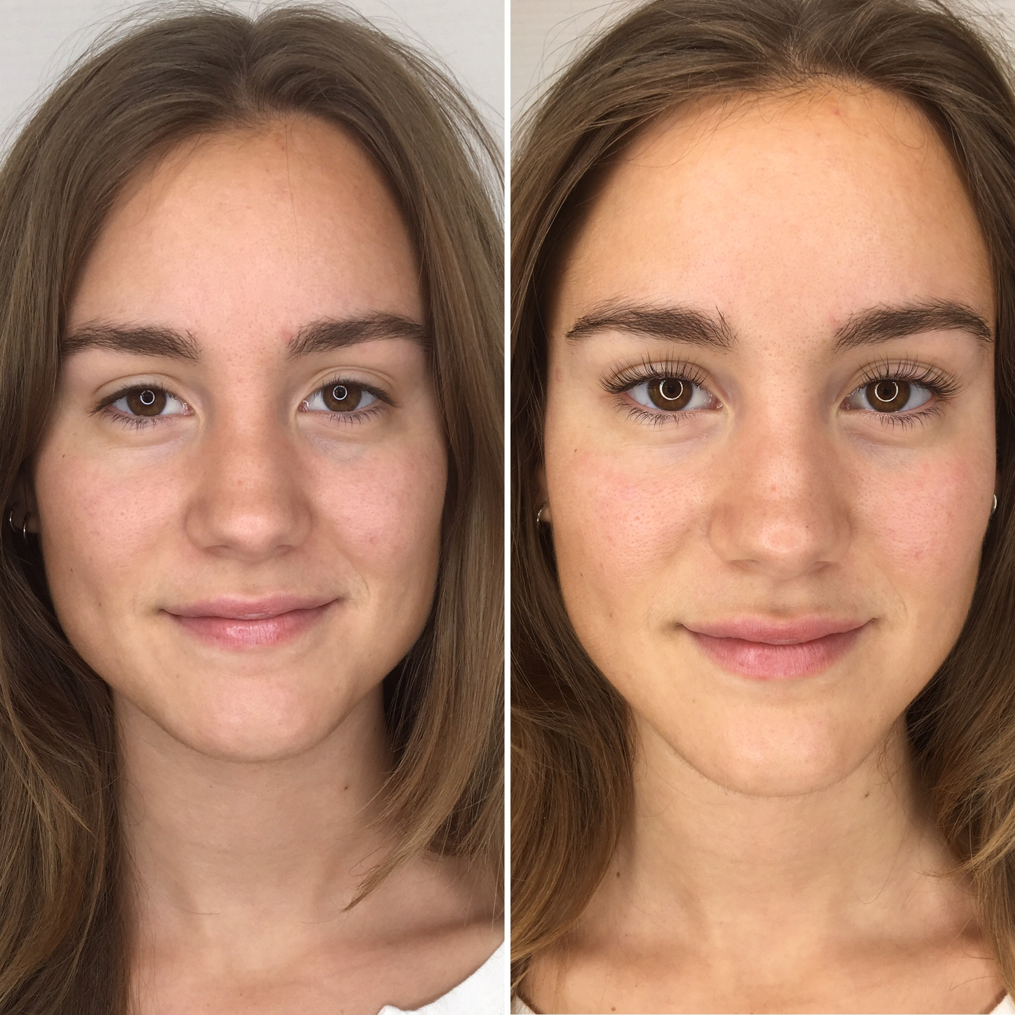 Before & After Lashlift
